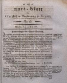 Amts-Blatt der Königlichen Regierung zu Liegnitz, 1828, Jg. 18, No. 15