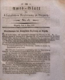 Amts-Blatt der Königlichen Regierung zu Liegnitz, 1828, Jg. 18, No. 18
