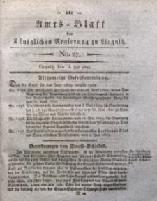 Amts-Blatt der Königlichen Regierung zu Liegnitz, 1829, Jg. 19, No. 27