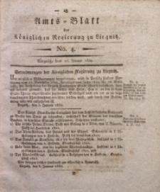 Amts-Blatt der Königlichen Regierung zu Liegnitz, 1830, Jg. 20, No. 4