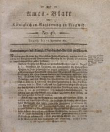 Amts-Blatt der Königlichen Regierung zu Liegnitz, 1830, Jg. 20, No. 46