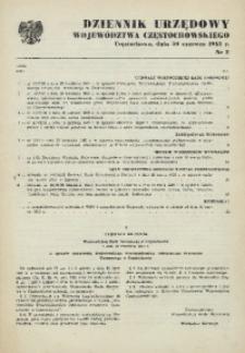 Dziennik Urzędowy Województwa Częstochowskiego, 1985, Nr 2