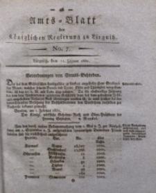 Amts-Blatt der Königlichen Regierung zu Liegnitz, 1831, Jg. 21, No. 7
