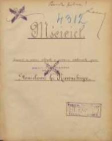Mściciel. Dramat w sześciu aktach, a siedmiu odsłonach, przez Stanisława hr. Rzewuskiego