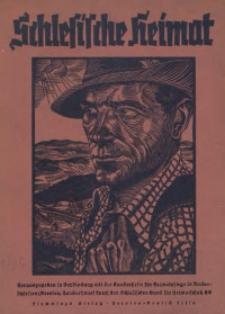 Schlesische Heimat, Jg. 1936, Heft 1