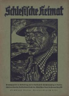 Schlesische Heimat, Jg. 1937, Heft 4