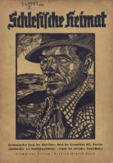 Schlesische Heimat, Jg. 1938, Heft 1