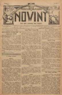 Nowiny, 1911, R. 1, nr 2