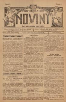 Nowiny, 1911, R. 1, nr 11