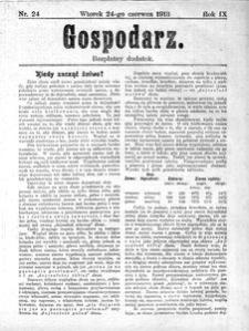 Gospodarz, 1913, R. 9, nr 24