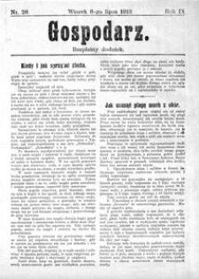 Gospodarz, 1913, R. 9, nr 26