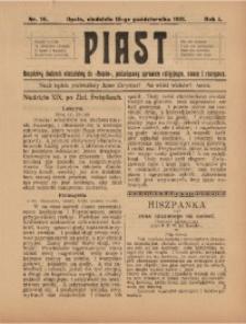 Piast, 1911, R. 1, Nr. 16