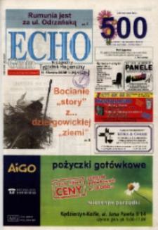 Echo Gmin : niezależny tygodnik regionalny 2007, nr 15 (499).