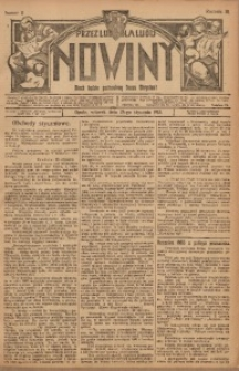 Nowiny, 1913, R. 3, nr 11
