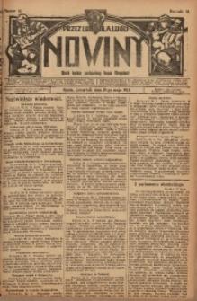 Nowiny, 1913, R. 3, nr 61