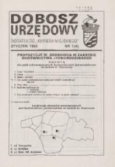 Dobosz Urzędowy, 1993, nr 1 (4)