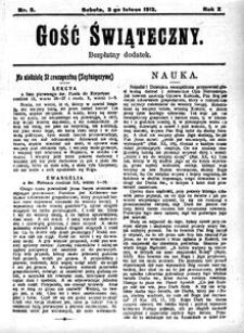 Gość Świąteczny, 1912, R. 10, nr 5