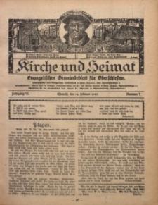 Kirche und Heimat, 1926, Jg. 10, nr 7