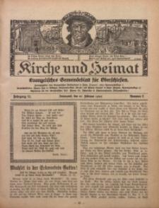 Kirche und Heimat, 1926, Jg. 10, nr 8