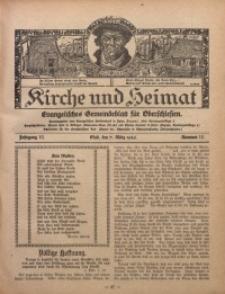 Kirche und Heimat, 1926, Jg. 10, nr 10