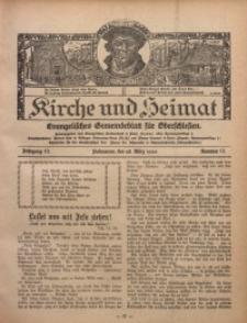 Kirche und Heimat, 1926, Jg. 10, nr 13