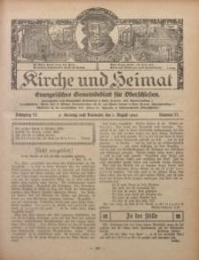 Kirche und Heimat, 1926, Jg. 10, nr 31