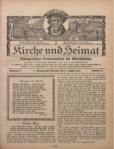 Kirche und Heimat, 1926, Jg. 10, nr 33