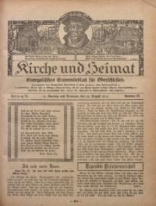 Kirche und Heimat, 1926, Jg. 10, nr 35