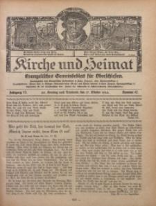 Kirche und Heimat, 1926, Jg. 10, nr 42