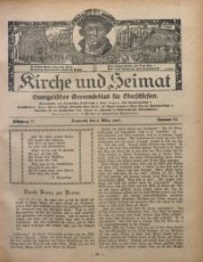 Kirche und Heimat, 1927, Jg. 11, nr 10