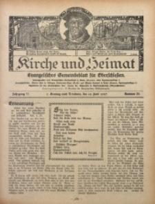 Kirche und Heimat, 1927, Jg. 11, nr 25