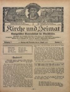 Kirche und Heimat, 1927, Jg. 11, nr 34
