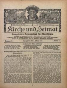 Kirche und Heimat, 1928, Jg. 12, nr 6