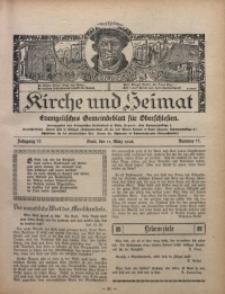 Kirche und Heimat, 1928, Jg. 12, nr 11