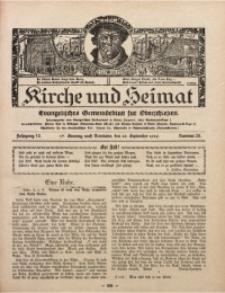 Kirche und Heimat, 1929, Jg. 13, nr 39