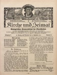 Kirche und Heimat, 1929, Jg. 13, nr 40
