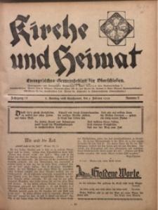 Kirche und Heimat, 1930, Jg. 14, nr 6