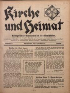 Kirche und Heimat, 1930, Jg. 14, nr 7