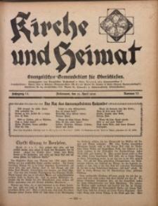 Kirche und Heimat, 1930, Jg. 14, nr 15