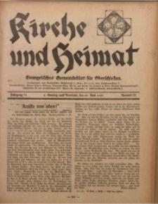 Kirche und Heimat, 1930, Jg. 14, nr 25
