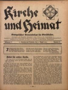 Kirche und Heimat, 1930, Jg. 14, nr 35