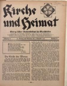 Kirche und Heimat, 1930, Jg. 14, nr 44