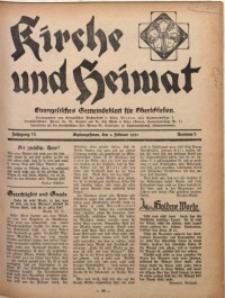 Kirche und Heimat, 1931, Jg. 15, nr 5