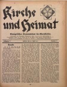 Kirche und Heimat, 1931, Jg. 15, nr 17