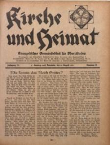Kirche und Heimat, 1931, Jg. 15, nr 31