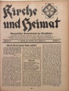 Kirche und Heimat, 1931, Jg. 15, nr 32