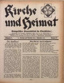 Kirche und Heimat, 1931, Jg. 15, nr 36