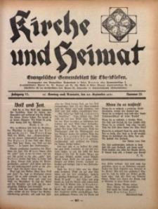 Kirche und Heimat, 1931, Jg. 15, nr 38