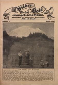 Bilder Bote für das Evangelische Haus, 1926, nr 8