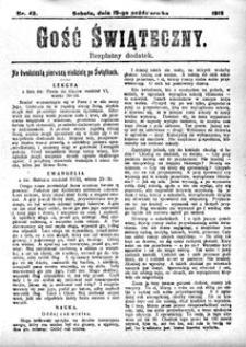 Gość Świąteczny, 1912, R. 10, nr 42